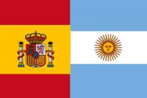 """FUTBOL """"ESPAÑA-ARGENTINA"""""""